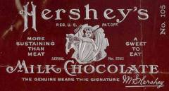 Original Hershey bar